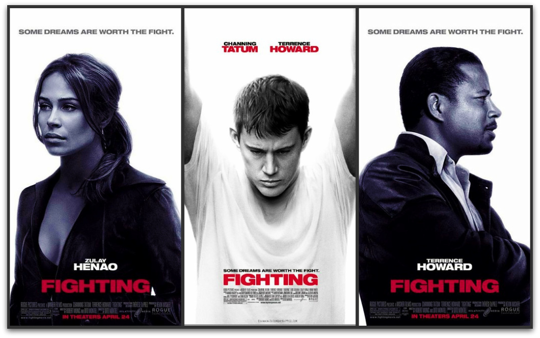 Zulay Henao, Channing Tatum, and Terrence Howard in Fighting Posters