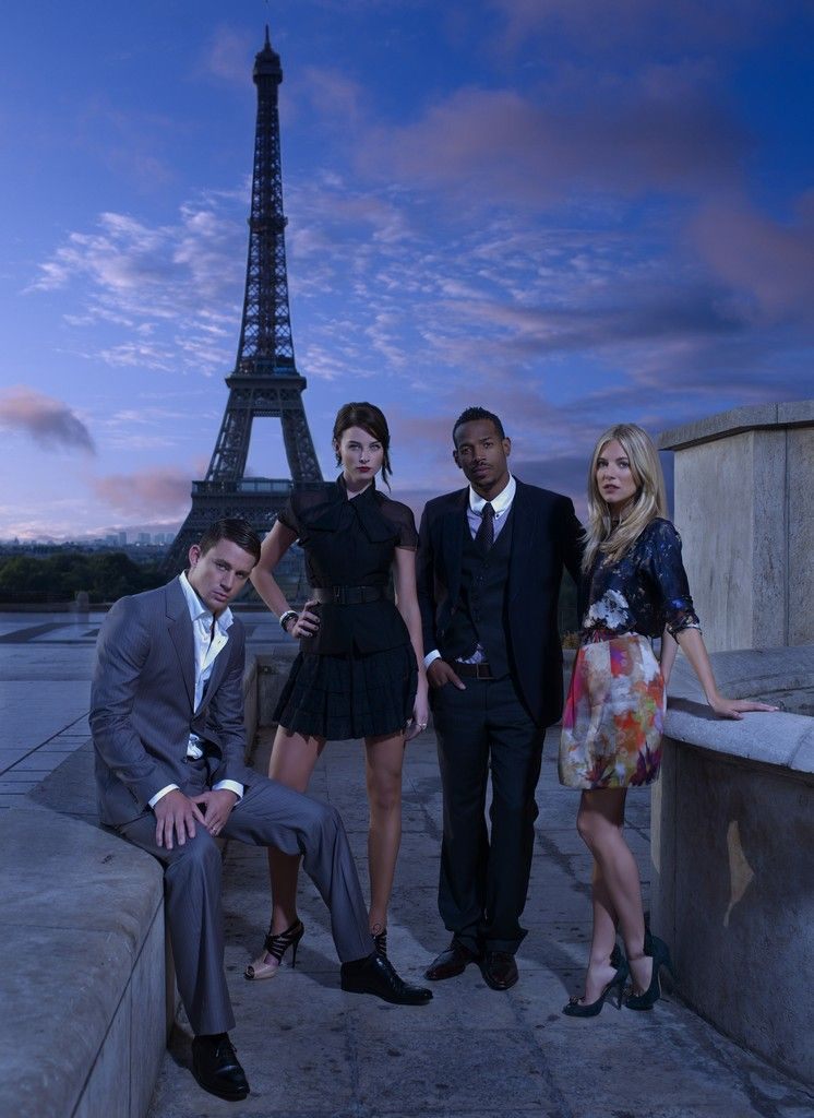 Channing Tatum and the 'G.I. Joe: Rise of Cobra' Cast Promotional Photos in Paris