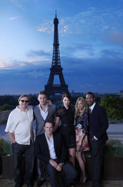 Channing Tatum and the 'G.I. Joe: Rise of Cobra' Cast in Promotional Stills in Paris