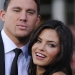 Channing Tatum and Jenna Dewan at the Los Angeles Premiere of 'G.I. Joe: Rise of Cobra'