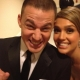 Channing Tatum and Jessica Alba Back Stage at the Golden Globes