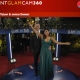 Channing Tatum and Jenna Dewan-Tatum in E!'s 360 Glam Cam at the Golden Globes