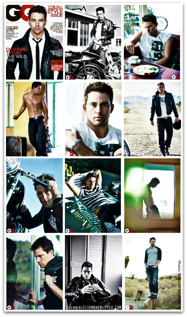 Channing Tatum's March 2011 GQ Cover and Photo Shoot Outtakes