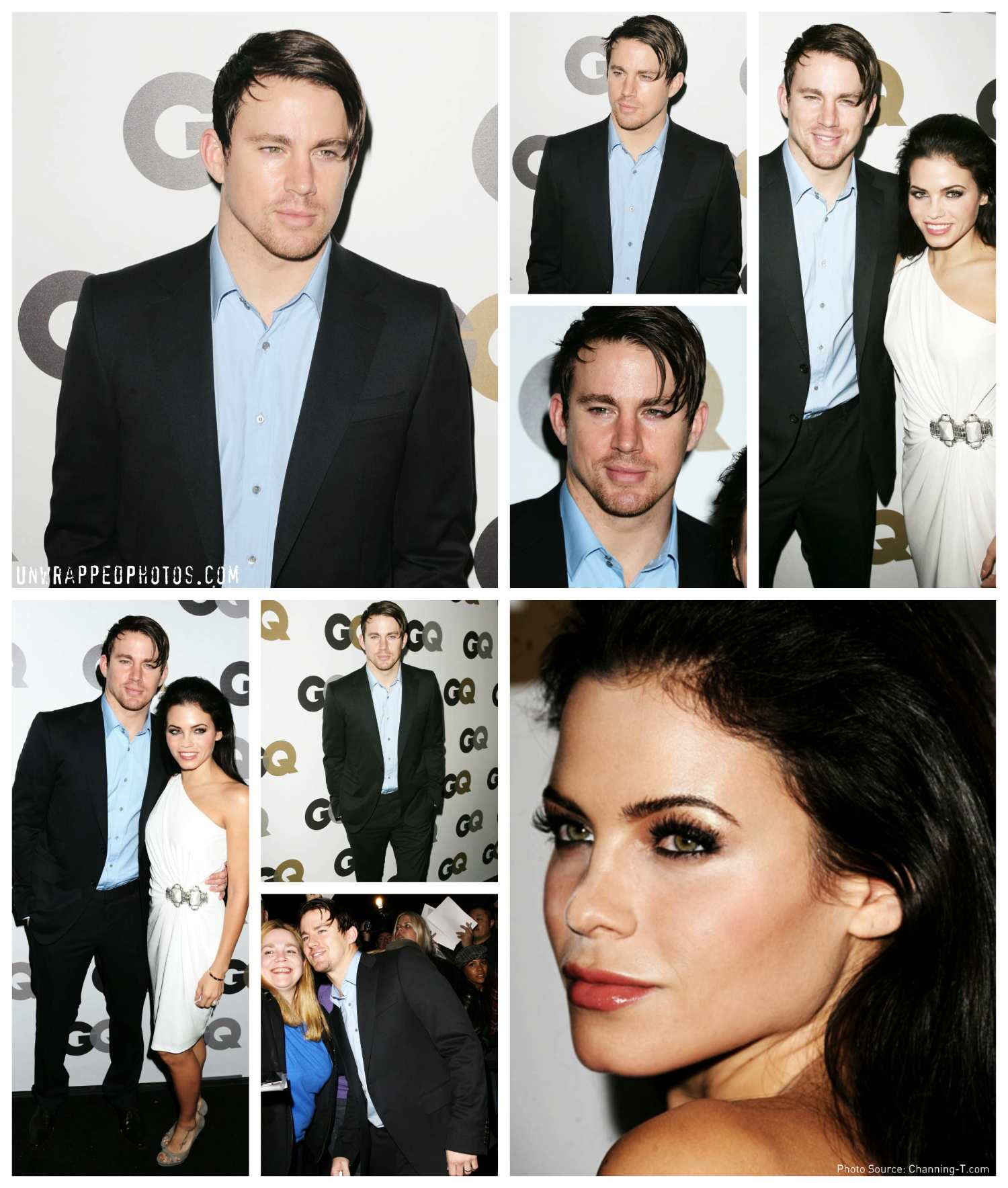 """Chan and Jenna at GQ's """"Style Manual"""" and Men of the Year Parties"""
