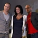 Channing Tatum, Gina Carano, and director Steven Soberbergh  at 'Haywire' Comic-Con Panel (July 22, 2011)