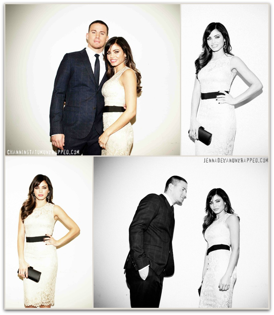 Channing Tatum and Jenna Dewan-Tatum at 'Haywire' Premiere & After Party