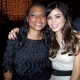 Q and Jenna Dewan-Tatum at the 'Haywire' Premiere (CTU Exclusive)