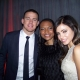 Channing Tatum, Q and Jenna Dewan-Tatum at the 'Haywire' Premiere (CTU Exclusive)