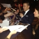 Channing Tatum with Fans at the 'Haywire' Premiere