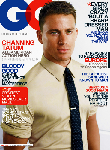 Channing Tatum Unwrapped | OFFICIAL Site and Blog: NEWS FLASH