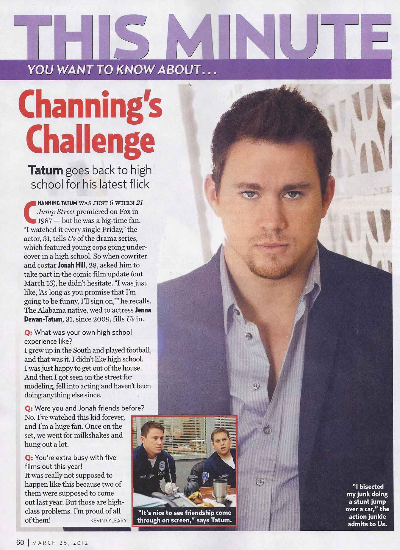 channing online dating News of actor channing tatum's death spread quickly earlier this week, causing concern among fans across the world however, the may 2018 report has now been confirmed as a complete hoax, the actor best known for his roles in magic mike, 21 jump street or the vow is alive and well.