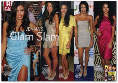 Jenna Dewan Featured in US Weekly Magazine