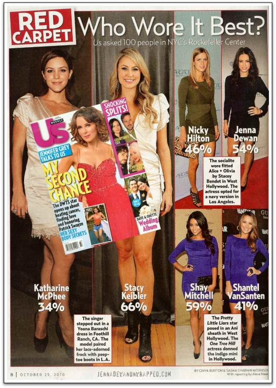 @JennalDewan Wins @USWeekly's Who Wore It Best (OCT 25, 2010)