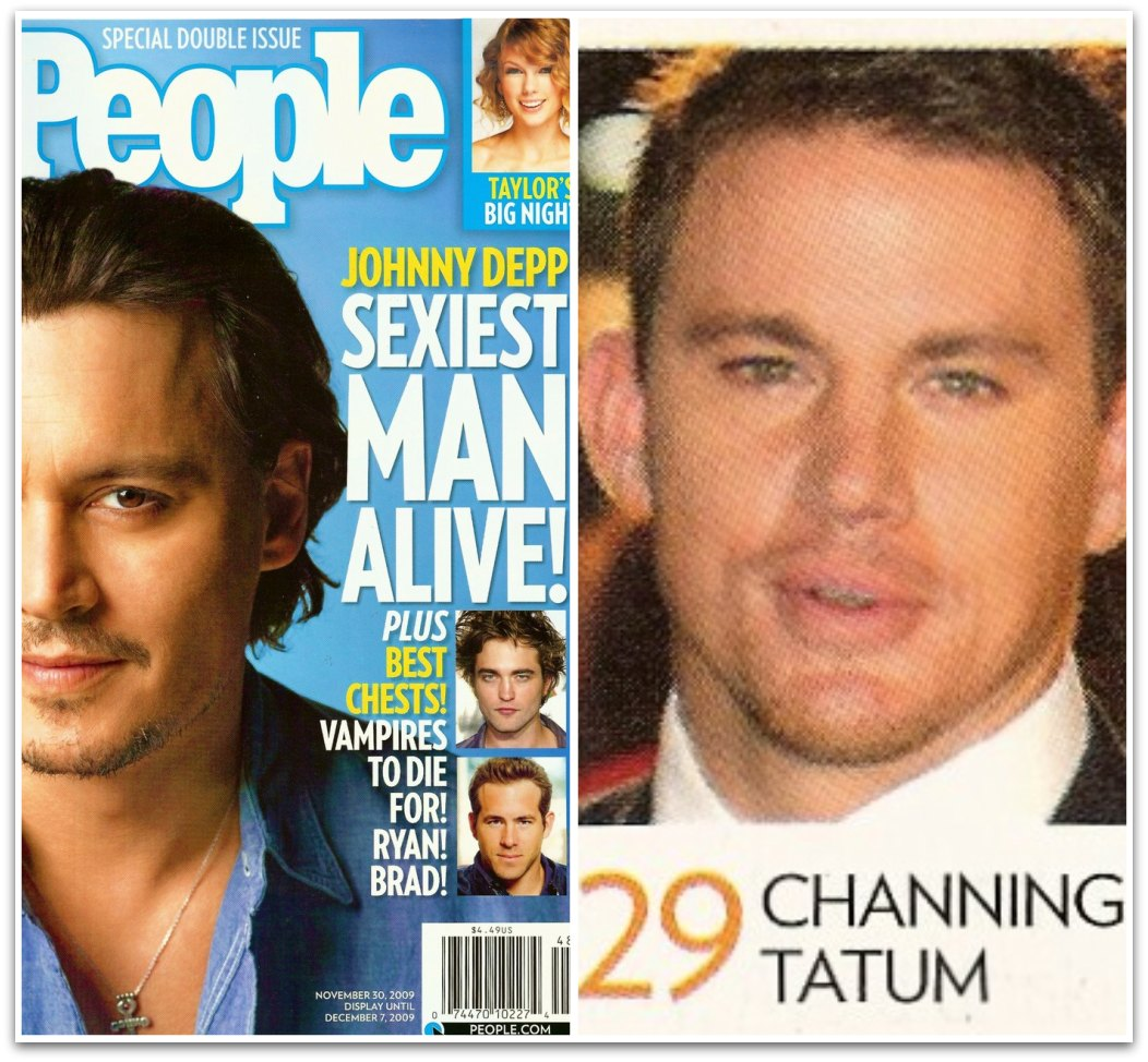 Channing Tatum Featured in People's 2009 Sexiest Man Alive Issue