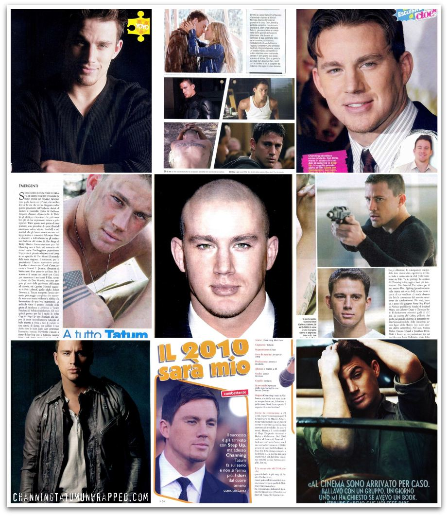 Channing Tatum in Total Film, Vanity Fair, Maxim, and more…