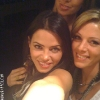 Jenna Dewan and Chan's Sister Paige and a Friend at the Pink Concert