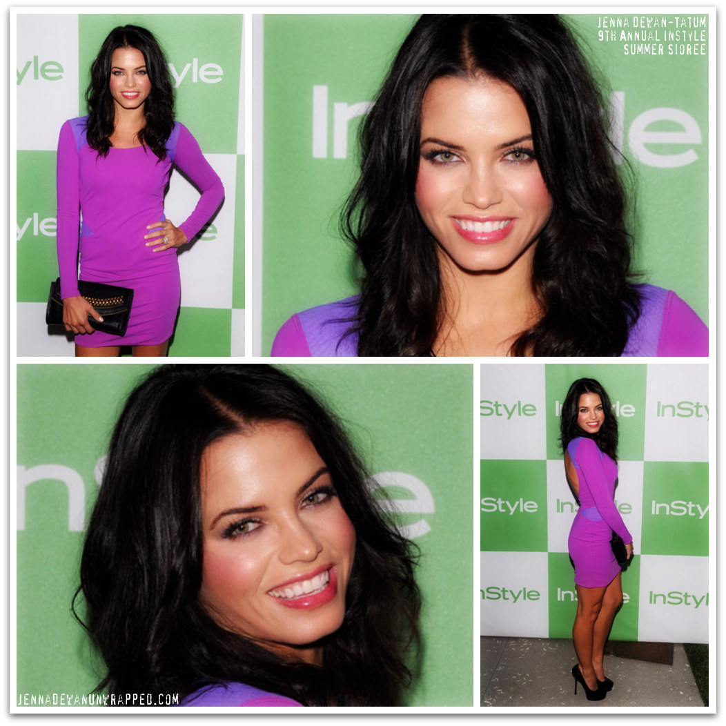 Jenna Dewan-Tatum at the 9th Annual InStyle Summer Soiree