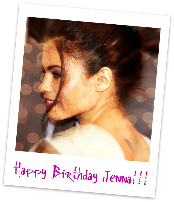 Happy Birthday to Jenna Dewan-Tatum from Fans Around the World