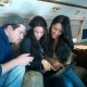 @ChanningTatum, @JennalDewan, and @xoxomarianna (01-11-2011)
