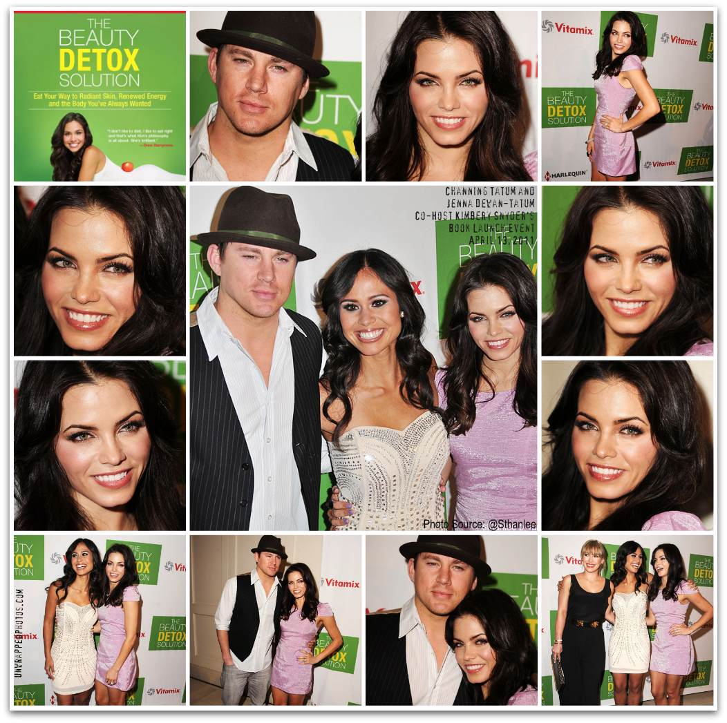 Channing Tatum and Jenna Dewan Tatum Host Kimberly Snyder's Book Launch Party