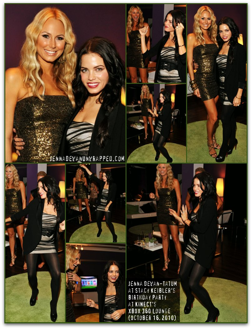 Jenna Dewan-Tatum at Stacy Keibler's Birthday Party