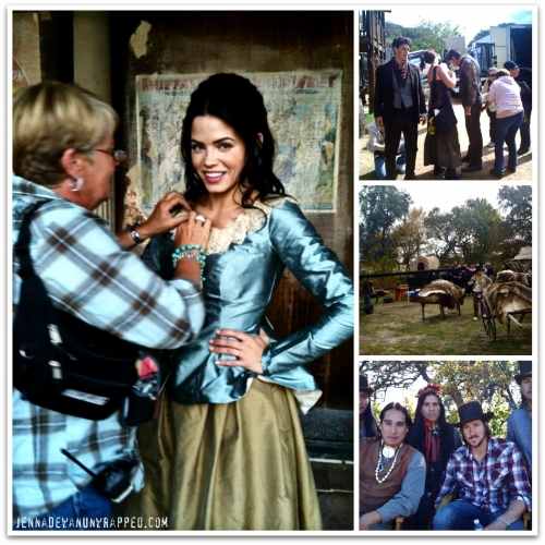 Jenna Dewan-Tatum on the Set of 'Legend of the Hell's Gate: An American Conspiracy'