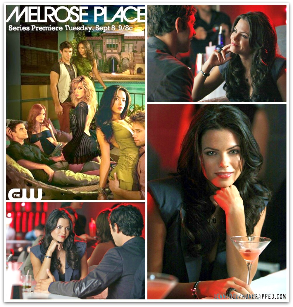 "Jenna Dewan on ""Melrose Place"""