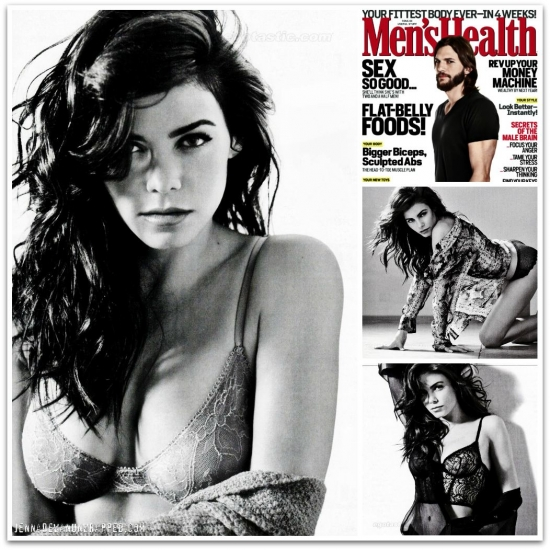 Jenna Dewan-Tatum - Men's Health December 2011 Wallpaper