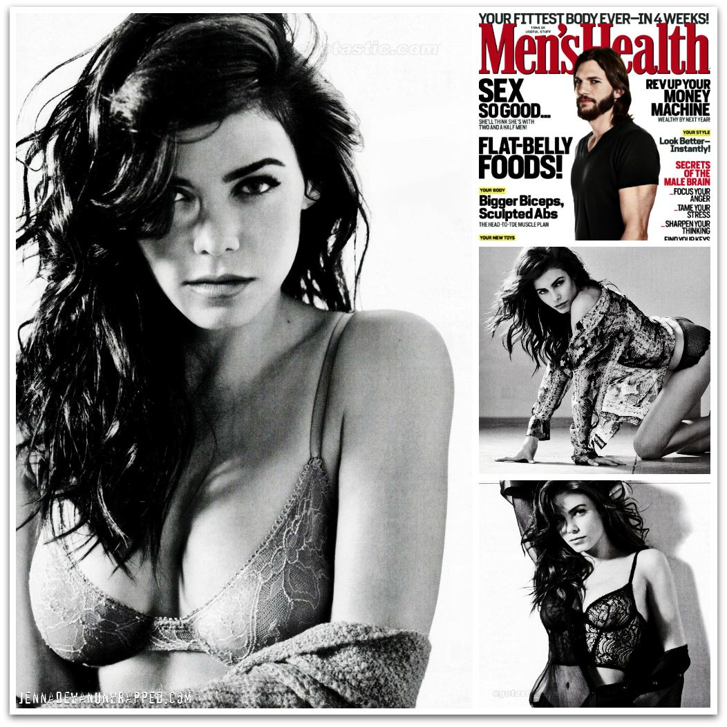 Jenna Dewan-Tatum Featured in Men's Health December 2011 Issue