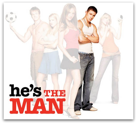 Channing Tatum Graphic for She's the Man Called He's the Man