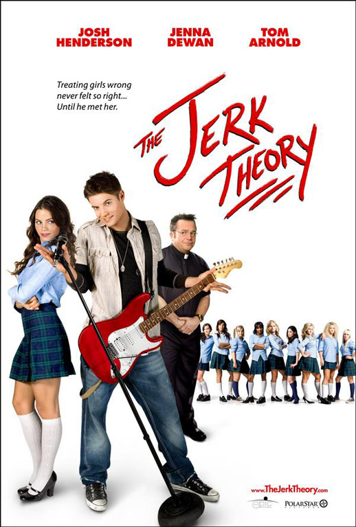 Official Poster for Jenna Dewan's 'The Jerk Theory'