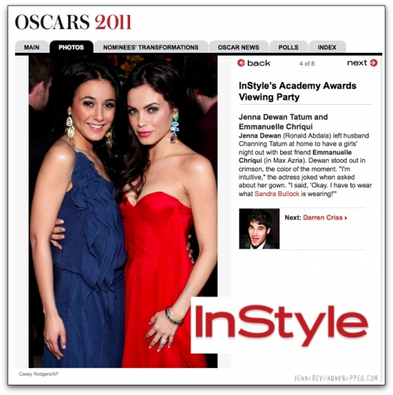 jenna-dewan-tatum-emmanuelle-chriqui-instyle-oscar-viewing-party