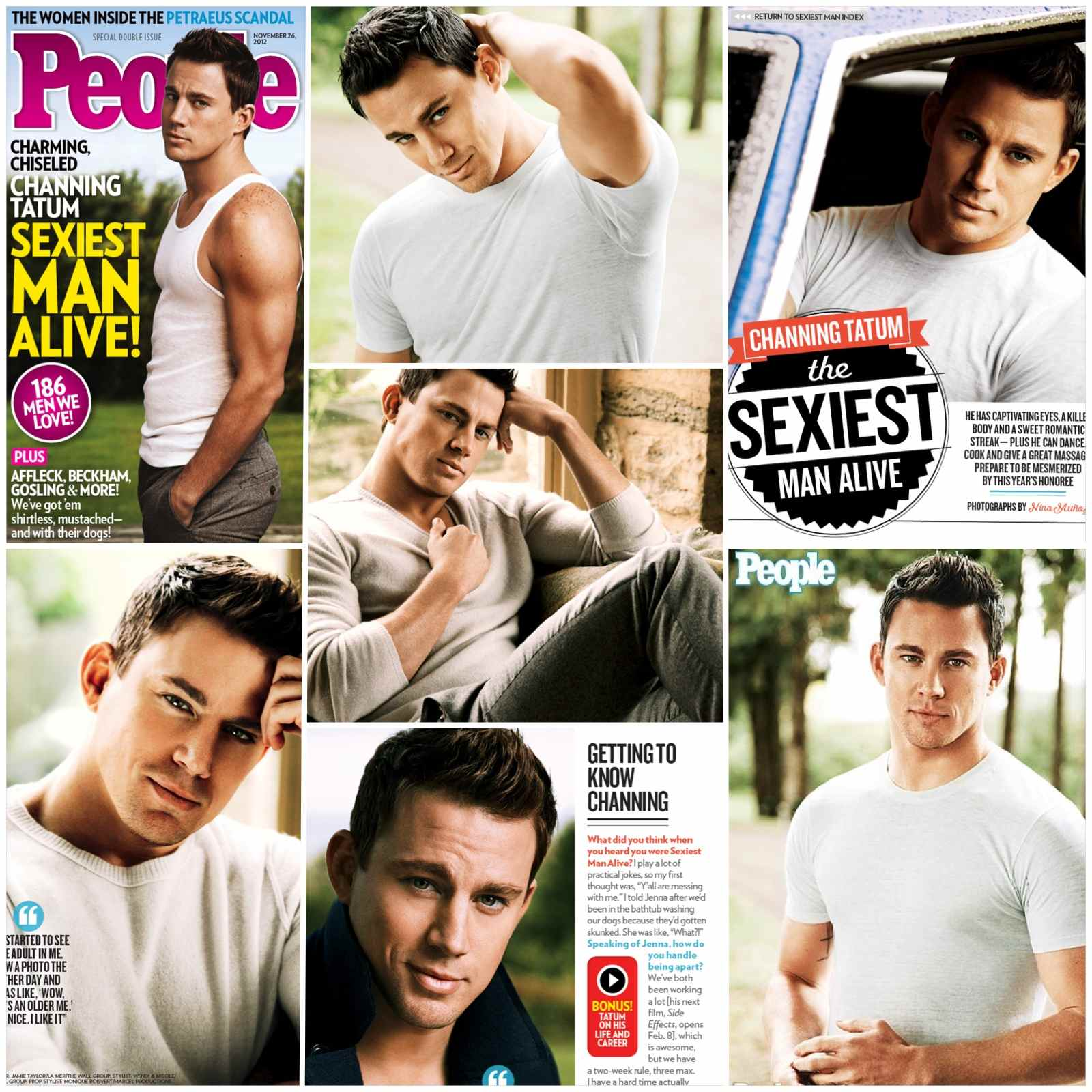 channing tatum dubbed gq�s man of the year amp people