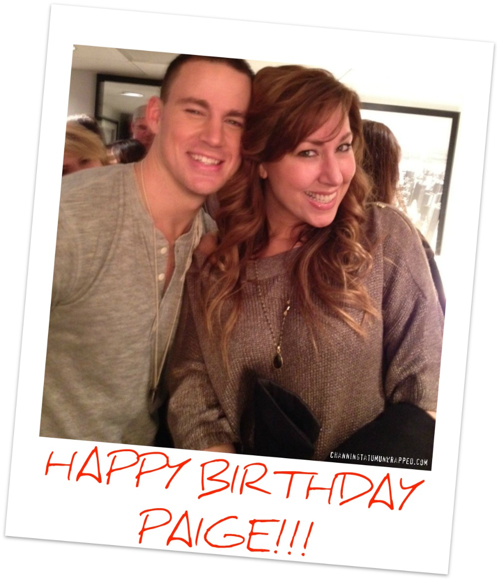 Happy Birthday to Channing Tatum's Sister Paige!!!