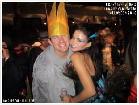 @ChanningTatum and @JennalDewan - Halloween 2010