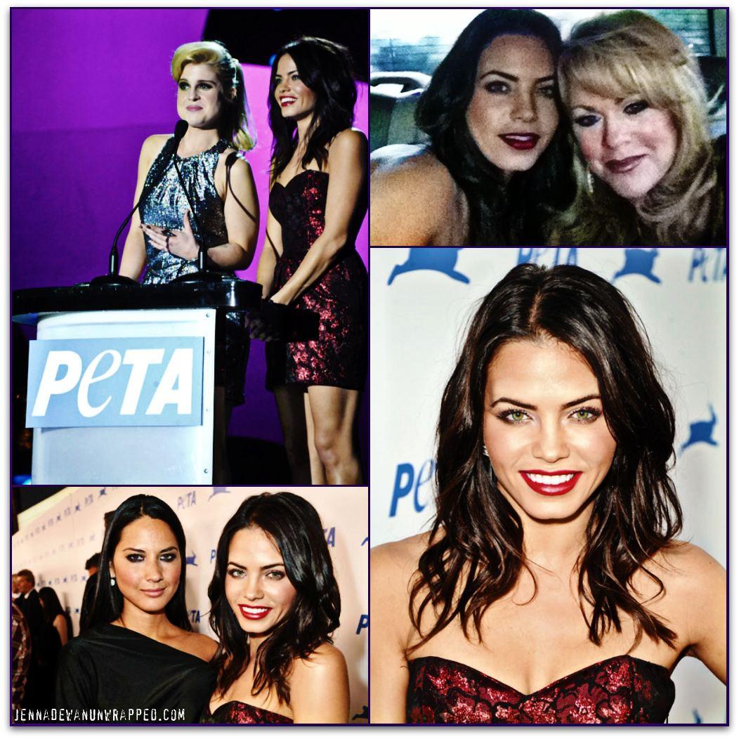 Jenna Dewan-Tatum at PETA's 30th Anniversary Gala