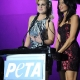 onstage during PETA's 30th Anniversary Gala and Humanitarian Awards at The Hollywood Palladium on September 25, 2010 in Los Angeles, California.