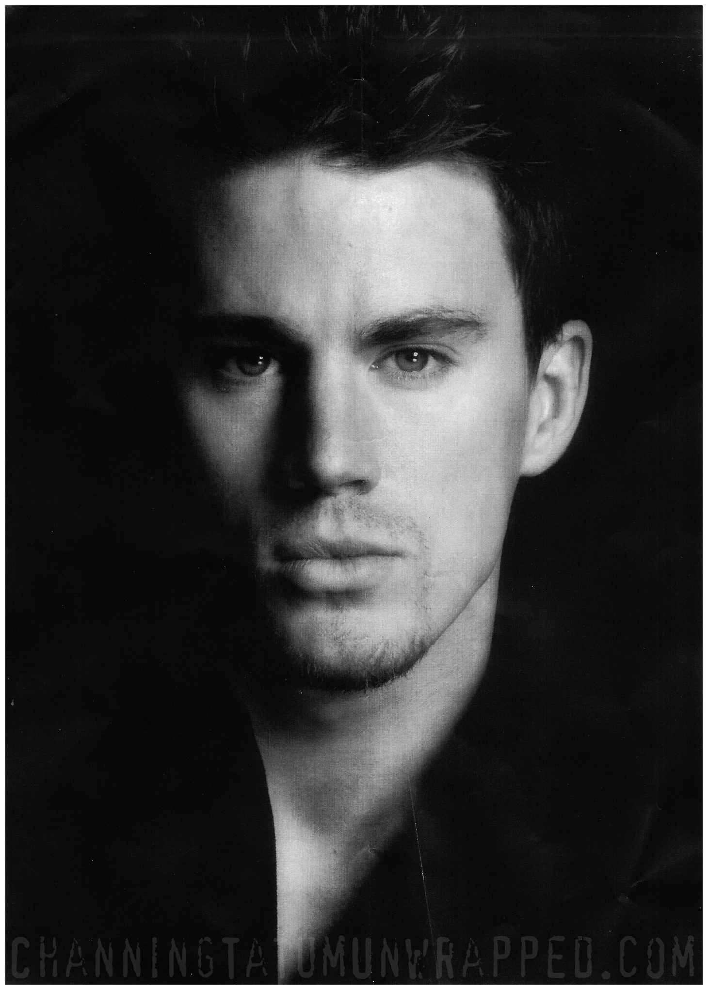 Channing Tatum Headshot by Greg Gorman (High Quality HQ)