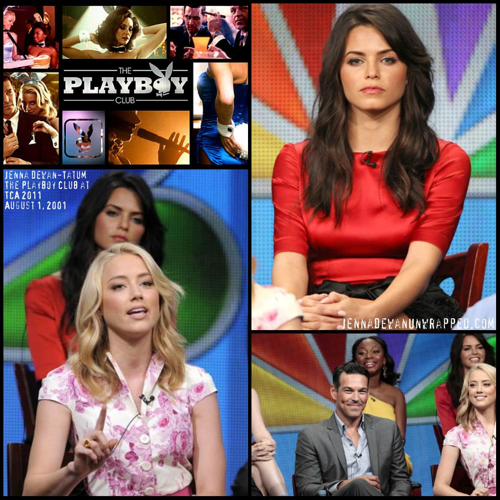 "Jenna Dewan-Tatum on 2011 Summer TCA Tour for ""The Playboy Club"""