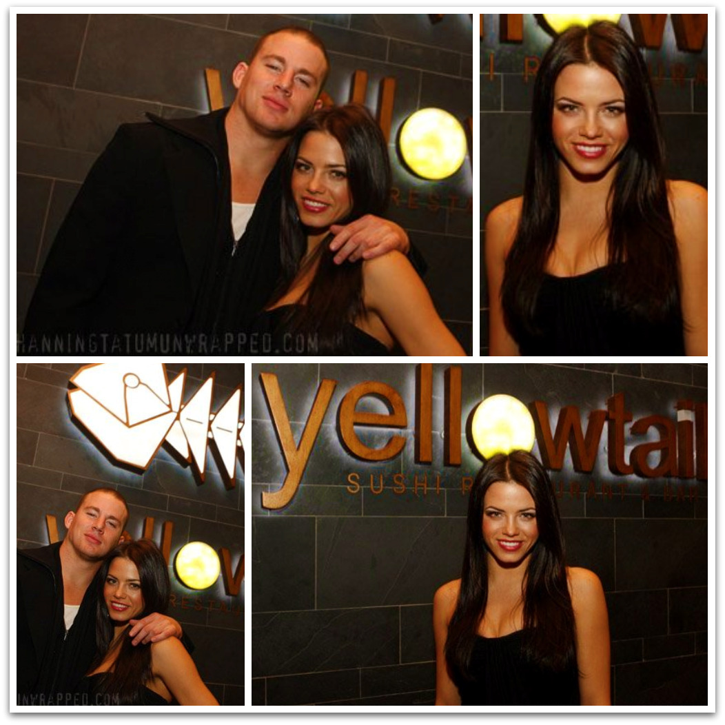Channing Tatum and Jenna Dewan at Haylie Duff's Birthday Party Wallpaper (February 20, 2009)