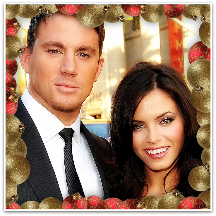 Channing Tatum and Fiancee Jenna Dewan