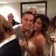 Channing Tatum and Jenna Backstage After SNL