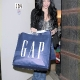 Jenna Dean Shopping at The Gap (Via JustJared.com)