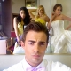 Jenna Dewan-Tatum, Carly Schroeder, Haylie Duff and Jonathan Bennett on the Set of 'Slightly Single in L.A.'