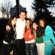 Channing Tatum with Fans on the Set of 'Son of No One' (@daniellex0o)