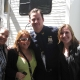 Channing Tatum with Fans on the Set of 'Son of No One' (@starmom36)