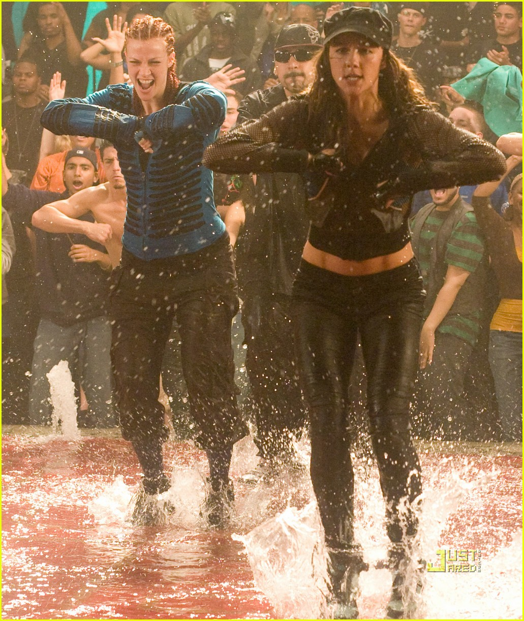 �step up 3d� promotional and behindthescenes set photos