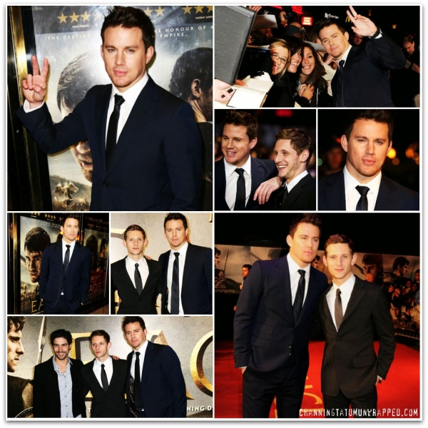 @ChanningTatum and Jamie Bell at UK Premiere for 'The Eagle'
