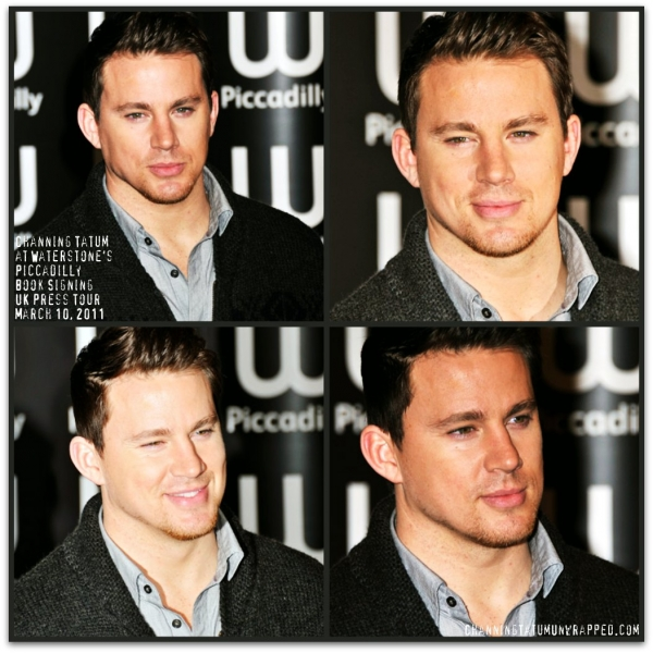 @ChanningTatum at Waterstone's Piccadilly Book Signing for 'The Eagle'
