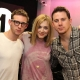 @ChanningTatum and Jamie Bell with BBC Radio 1's @fearnecotton during 'The Eagle' UK Press Tour via @fearnecotton